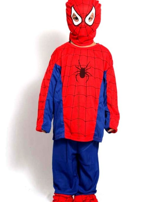 Spideman-Fancy-Dress-for-Kids